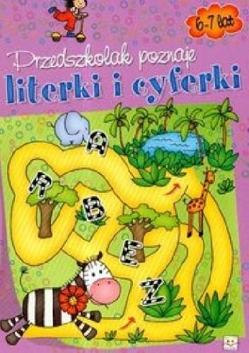 Okładka książki Przedszkolak poznaje literki i cyferki
