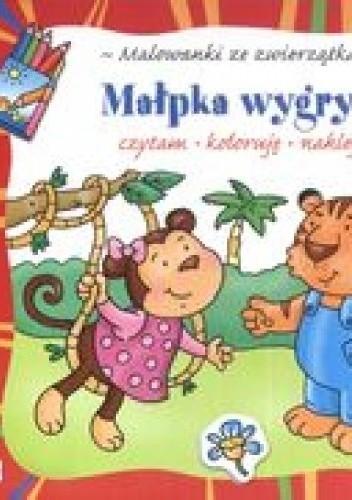 Okładka książki Małpka wygrywa