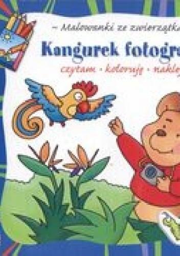 Okładka książki Kangurek fotografuje