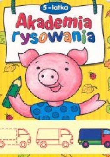 Okładka książki Akademia rysowania 5-latka