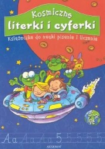 Okładka książki Kosmiczne literki i cyferki