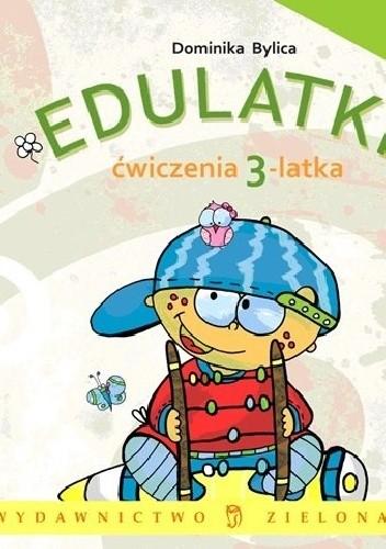 Okładka książki Edulatki. Ćwiczenia 3-latka