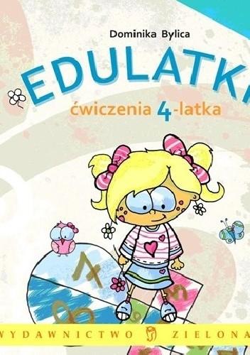 Okładka książki Edulatki. Ćwiczenia 4-latka