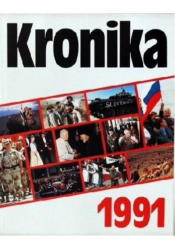 Okładka książki Kronika 1991