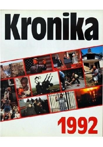 Okładka książki Kronika 1992