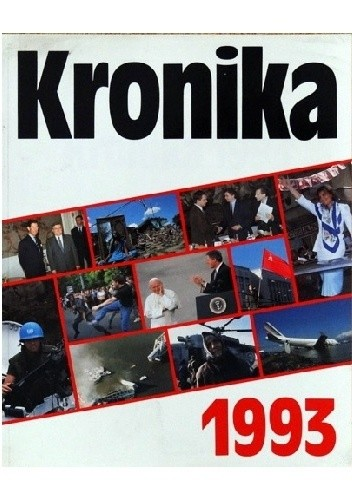 Okładka książki Kronika 1993