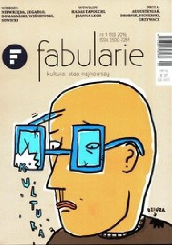 Okładka książki Fabularie nr 1(10) 2016