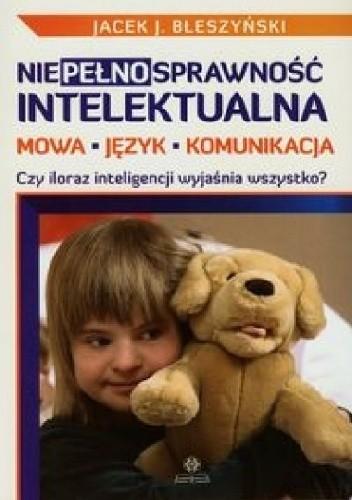 Okładka książki Niepełnosprawność intelektualna