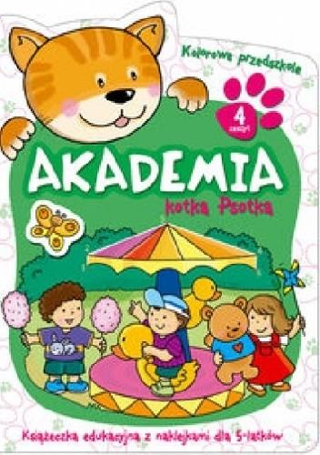 Okładka książki Akademia kotka Psotka. Część 4