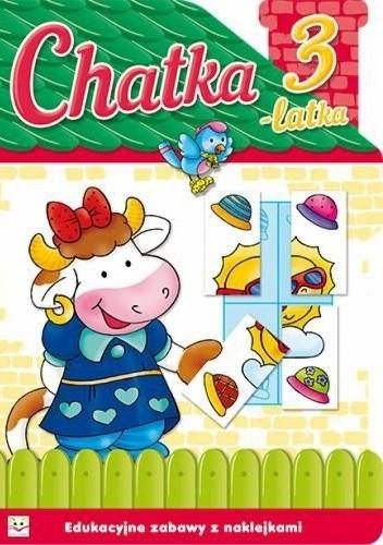 Okładka książki Chatka 3-latka