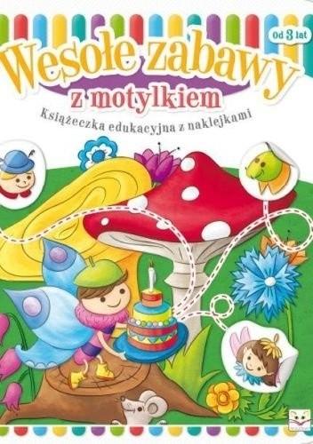 Okładka książki Wesołe zabawy z motylkiem