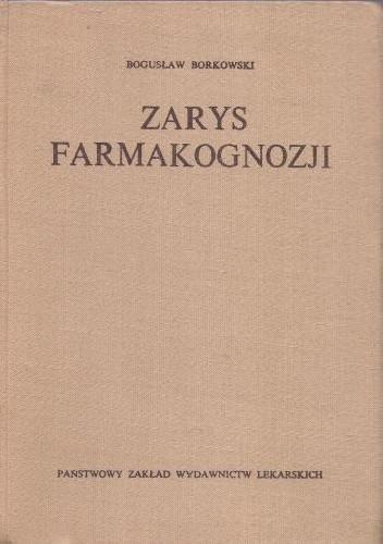Okładka książki Zarys farmakognozji
