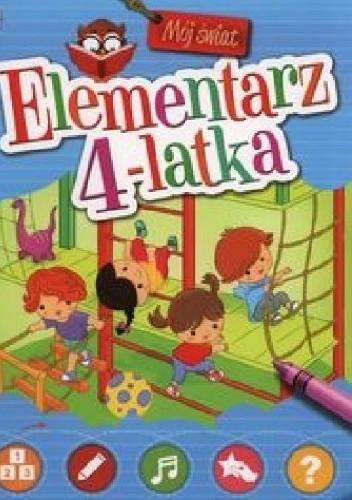Okładka książki Elementarz 4-latka. Mój świat