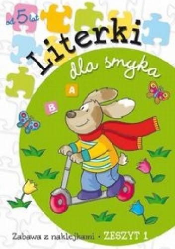Okładka książki Literki dla smyka. Zeszyt 1