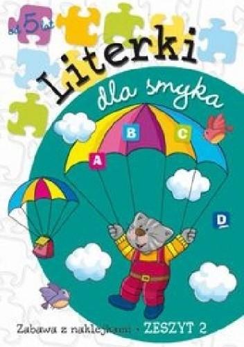 Okładka książki Literki dla smyka. Zeszyt 2