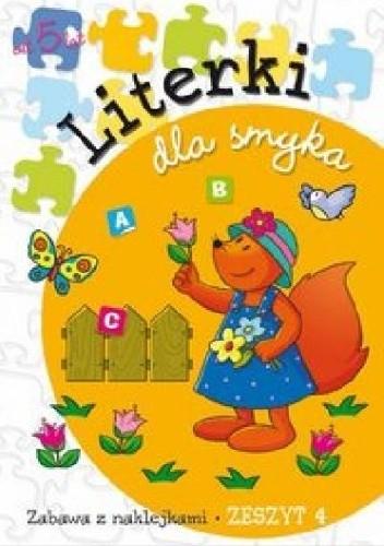 Okładka książki Literki dla smyka. Zeszyt 4