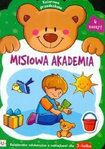 Okładka książki Misiowa akademia. Zeszyt 4