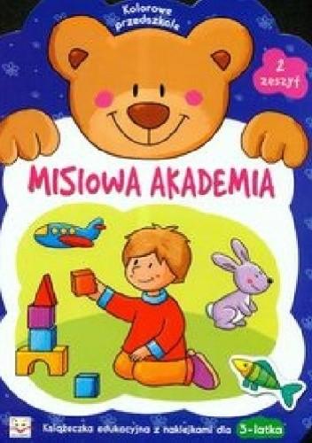 Okładka książki Misiowa akademia. Zeszyt 2