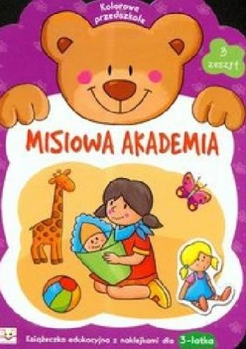 Okładka książki Misiowa akademia. Zeszyt 3
