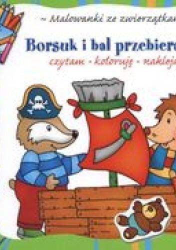 Okładka książki Borsuk i bal przebierańców