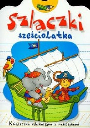 Okładka książki Szlaczki sześciolatka
