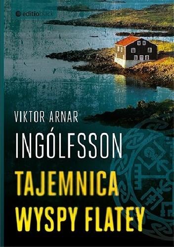 Okładka książki Tajemnica wyspy Flatey