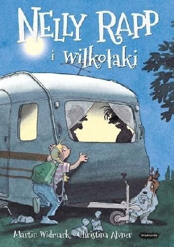 Okładka książki Nelly Rapp i wilkołaki