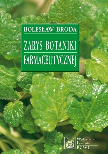 Okładka książki Zarys botaniki farmaceutycznej