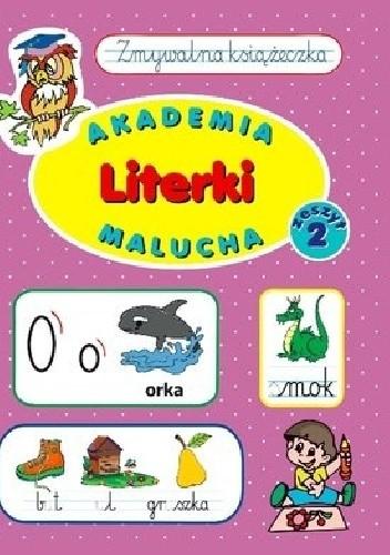 Okładka książki Akademia malucha. Literki. Zeszyt 2