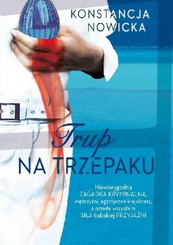 Okładka książki Trup na trzepaku