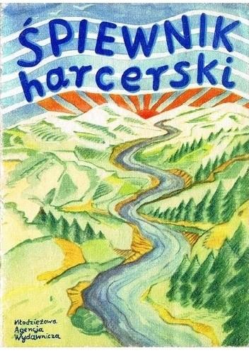Okładka książki Śpiewnik harcerski