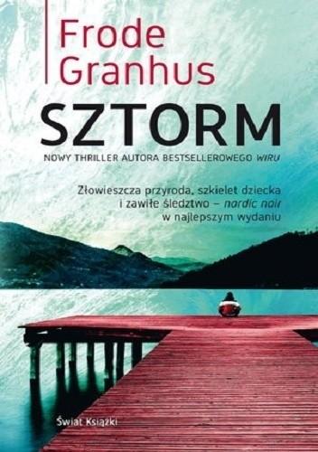 Okładka książki Sztorm