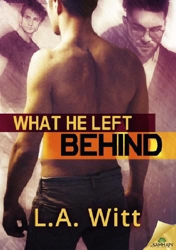Okładka książki What He Left Behind