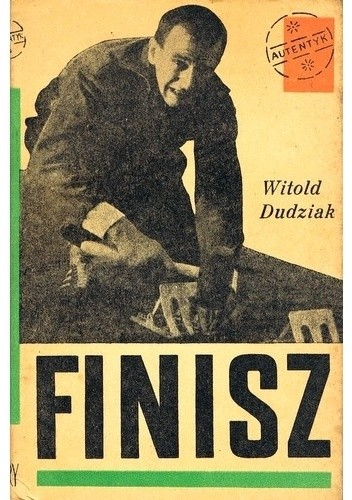 Okładka książki Finisz