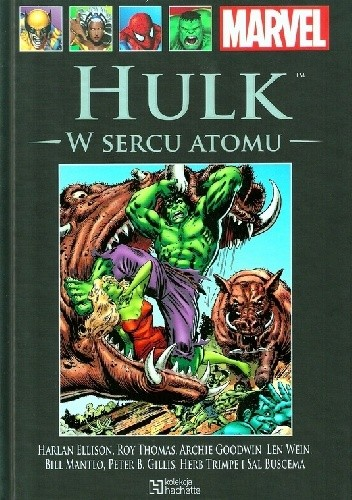 Okładka książki Hulk: W Sercu Atomu