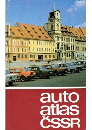 Okładka książki Autoatlas CSSR