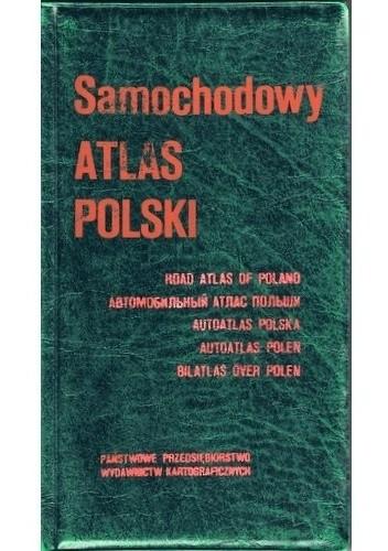 Okładka książki Samochodowy atlas Polski. 1:500 000