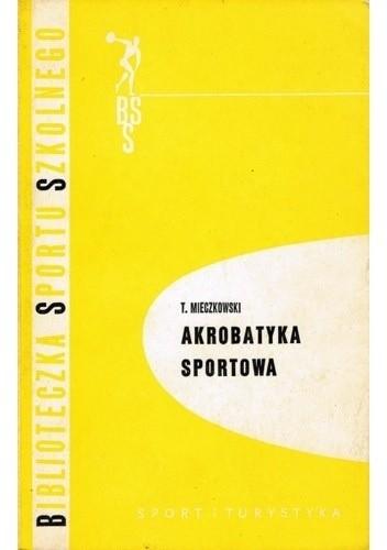 Okładka książki Akrobatyka sportowa