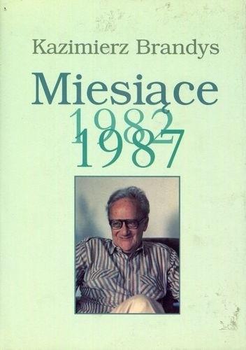 Okładka książki Miesiące 1982-1987