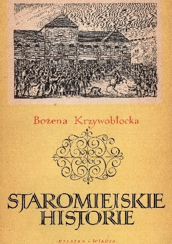 Okładka książki Staromiejskie historie