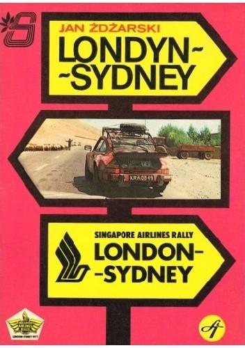 Okładka książki Londyn-Sydney
