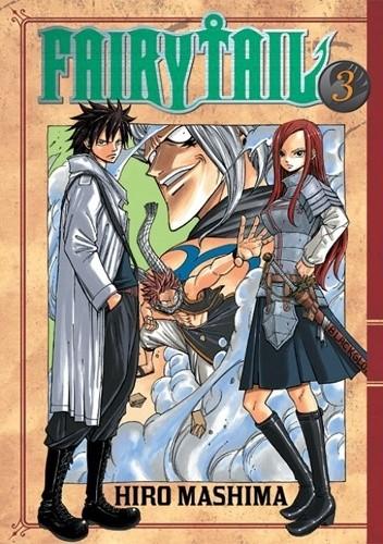 Okładka książki Fairy Tail tom 3