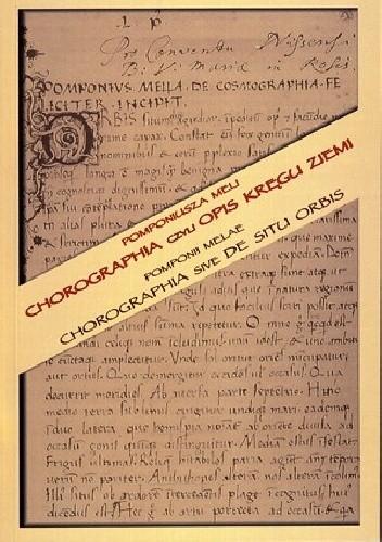 Okładka książki Chorografia czyli Opis kręgu ziemi