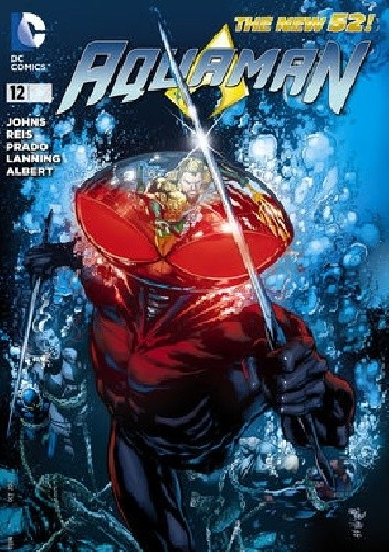 Okładka książki Aquaman Vol 7 #12