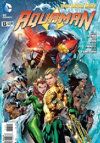 Okładka książki Aquaman Vol 7 #13