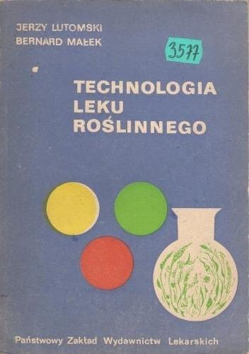 Okładka książki Technologia leku roślinnego