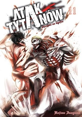 Okładka książki Atak tytanów tom 11