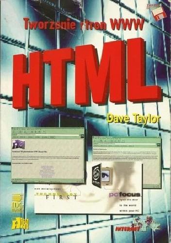 Okładka książki Tworzenie stron WWW HTML