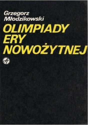 Okładka książki Olimpiady ery nowożytnej.