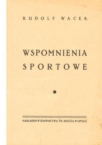 Okładka książki Wspomnienia sportowe